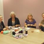 L-R Hannah Montgomery, Sandie Williams, Dianne Pritchard, Lorna Davies. Photo by Beth