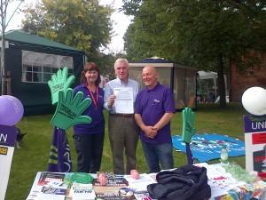 Wigan Diggers - John McDonnell MP