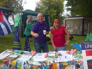 Wigan Diggers - Tim and Kathy
