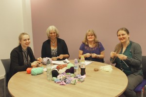 L-R Hannah Montgomery, Sandie Williams, Dianne Pritchard, Lorna Davies. Photo by Beth