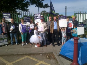 All out for fair pay in Knowsley.