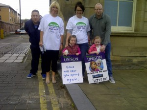 Standing up aginst FROZEN pay in Sefton.