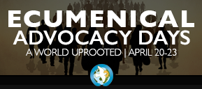 Ad for Ecumenical Advocacy Days