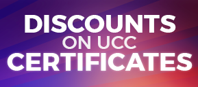 Discount on UCC Certificates