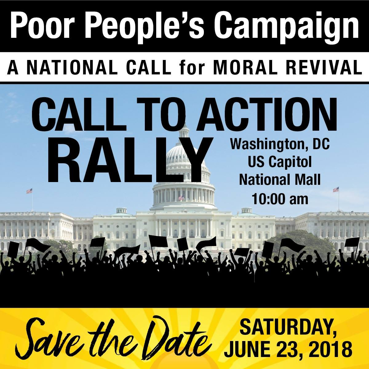 Poor People's Campaign Rally Info