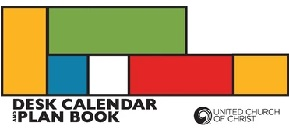 2021 UCC Desk Calendar and Plan Book