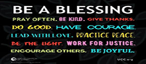 Be a Blessing Yard Sign