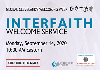 UCC to host online interfaith prayer service Sept. 14 for immigrant-welcoming week