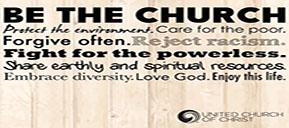 Be the Church Yard Sign