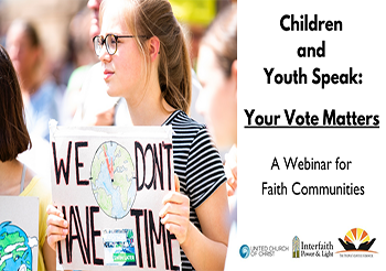 Children and Youth Speak: Your Vote Matters