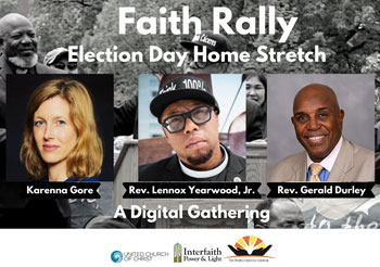 Faith Rally: Election Day Home Stretch