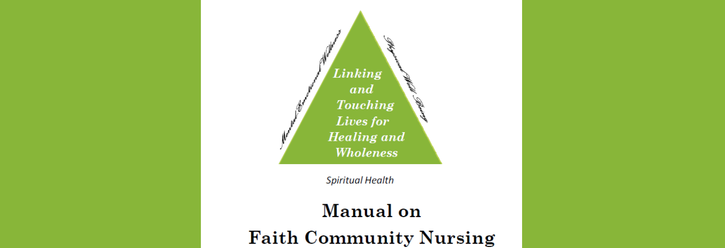 Your guide for Faith Community Nursing