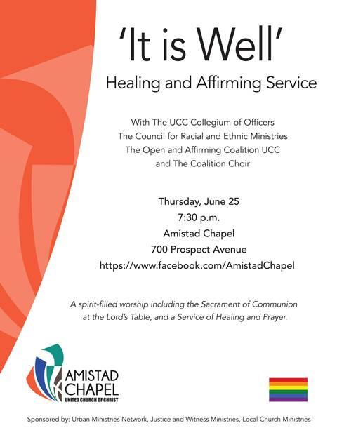 It Is Well: Healing and Affirming Service - United Church of
