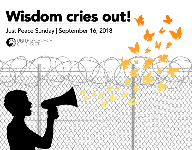 2018 Just Peace Sunday Graphic