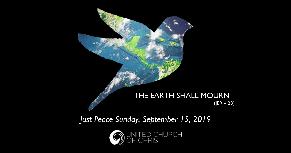 2019 Just Peace Sunday Graphic