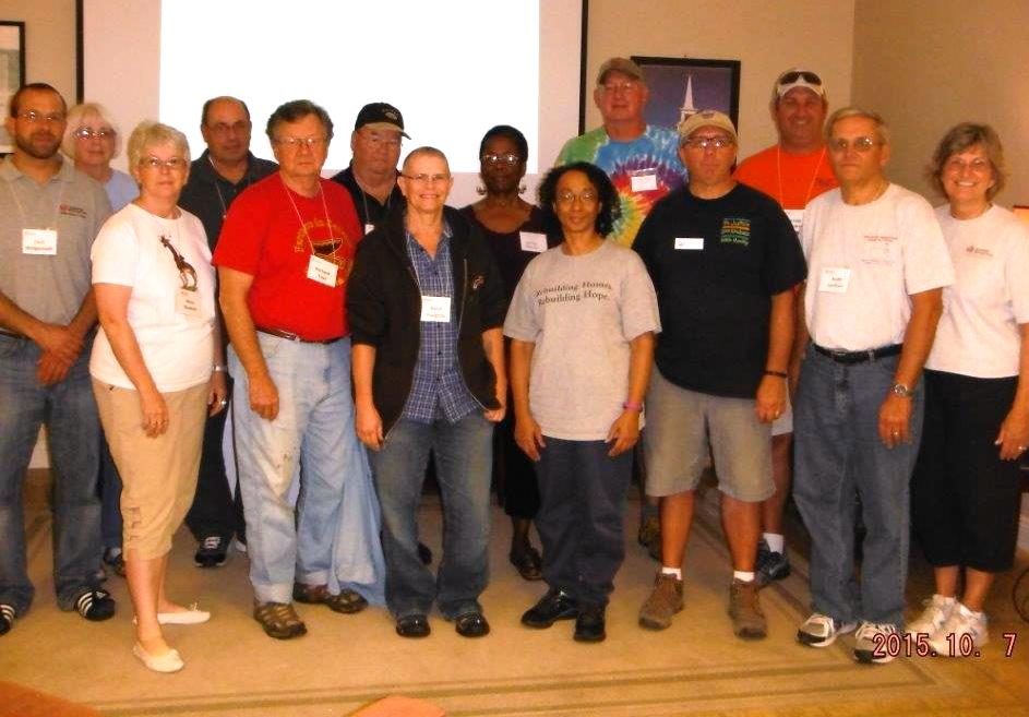 New Disaster Recovery Long-Term Volunteers