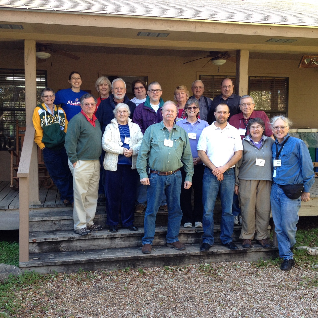 Participants in the Jan. 28-30 annual meeting of UCC Conference Disaster Coordinators.