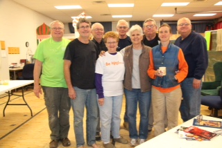Work team from the UCC's Evansville, Ind.-based Tri-State Association and Bethlehem UCC