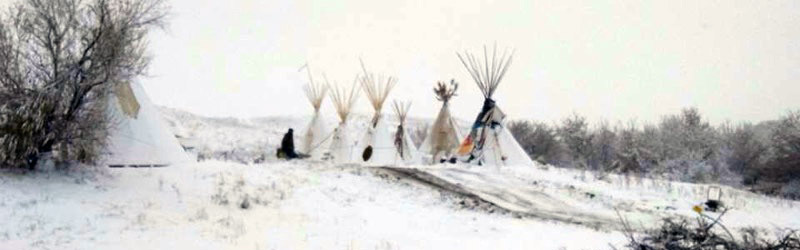 Winter at Standing Rock