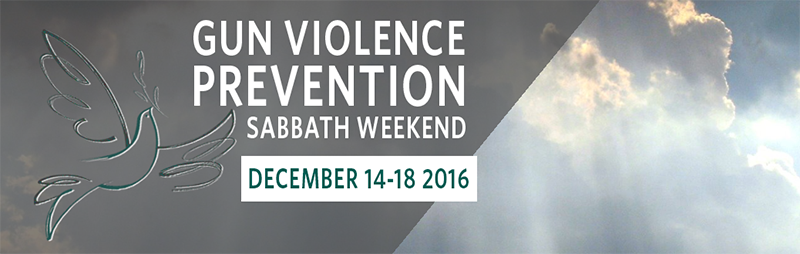 Gun Violence Prevention Sabbath 2016
