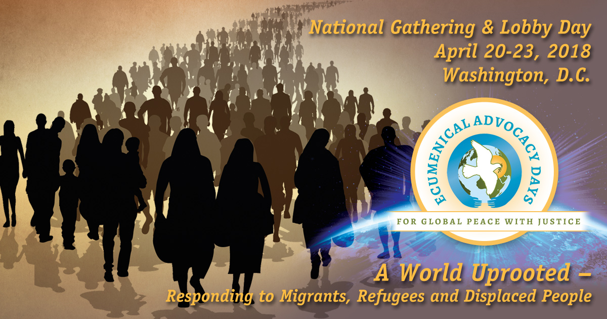 A World Uprooted: Responding to Migrants, Refugees and Displaced People Friday, April 20 – Monday, April 23, 2018