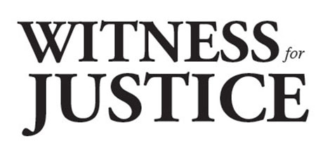 Witness for Justice logo