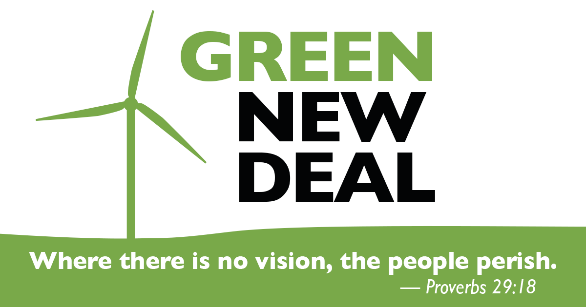 Green New Deal resources logo
