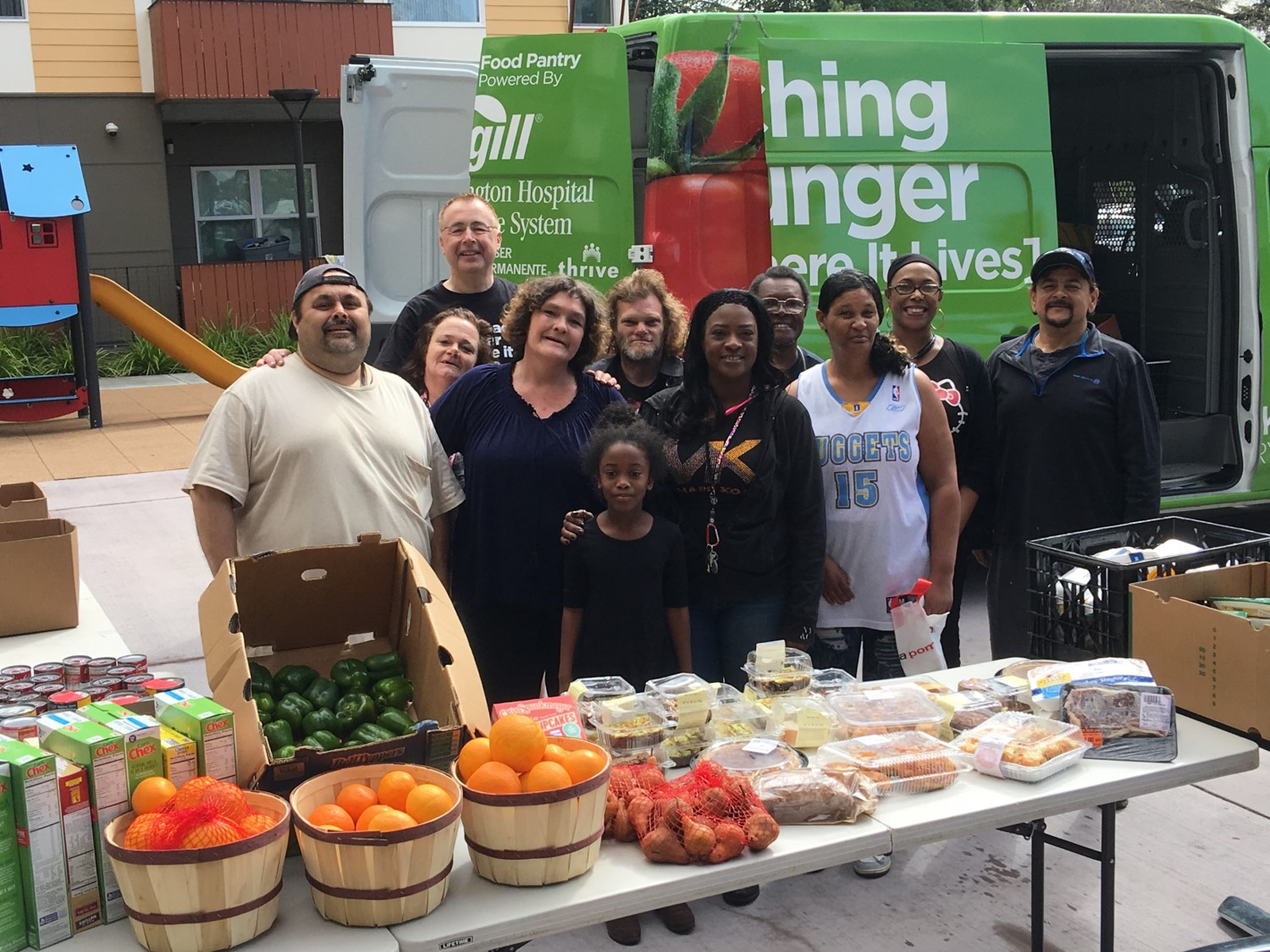 Niles Discovery with mobile food bank