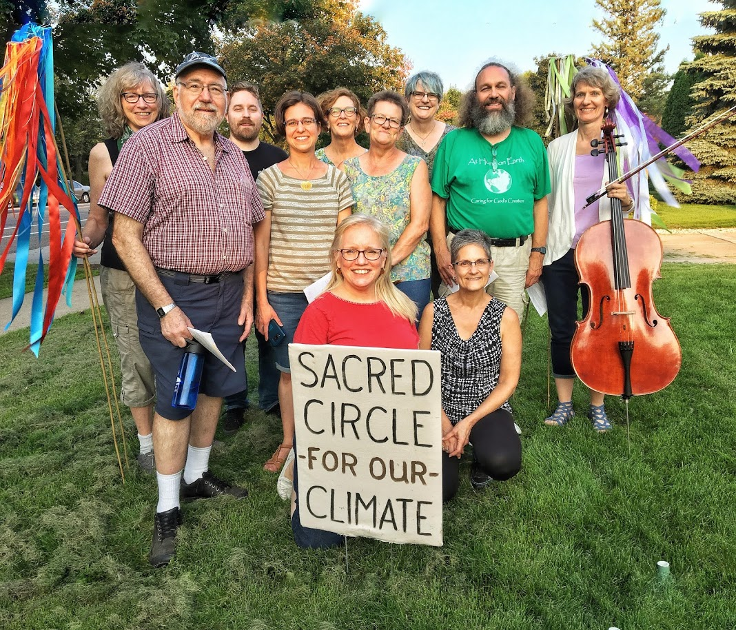 Sacred Circle leaders, St. Paul's UCC, 9/20/19