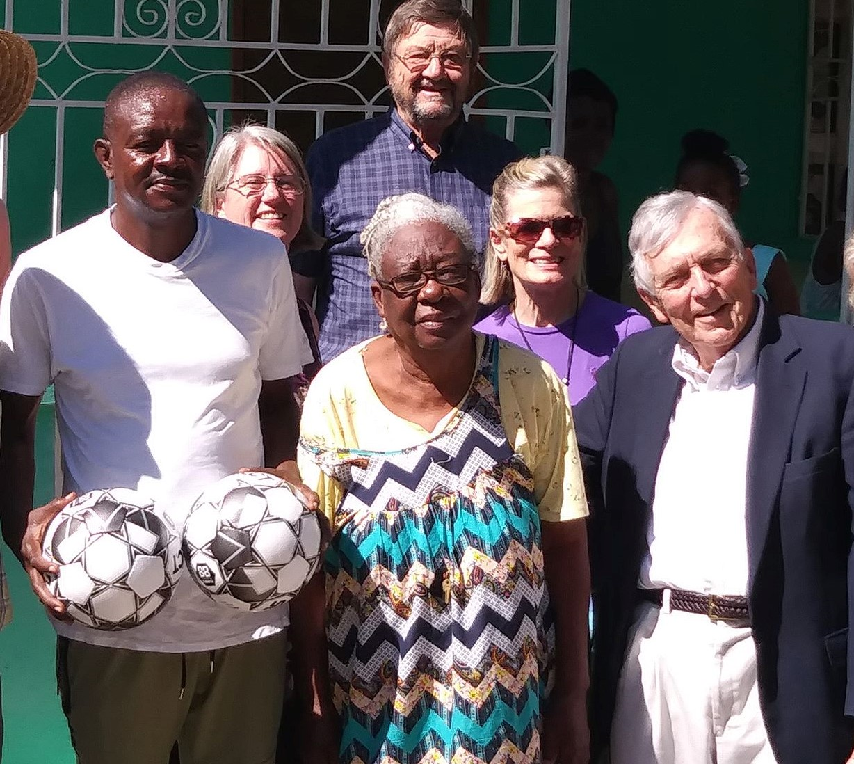 Hayes in Haiti, 2019