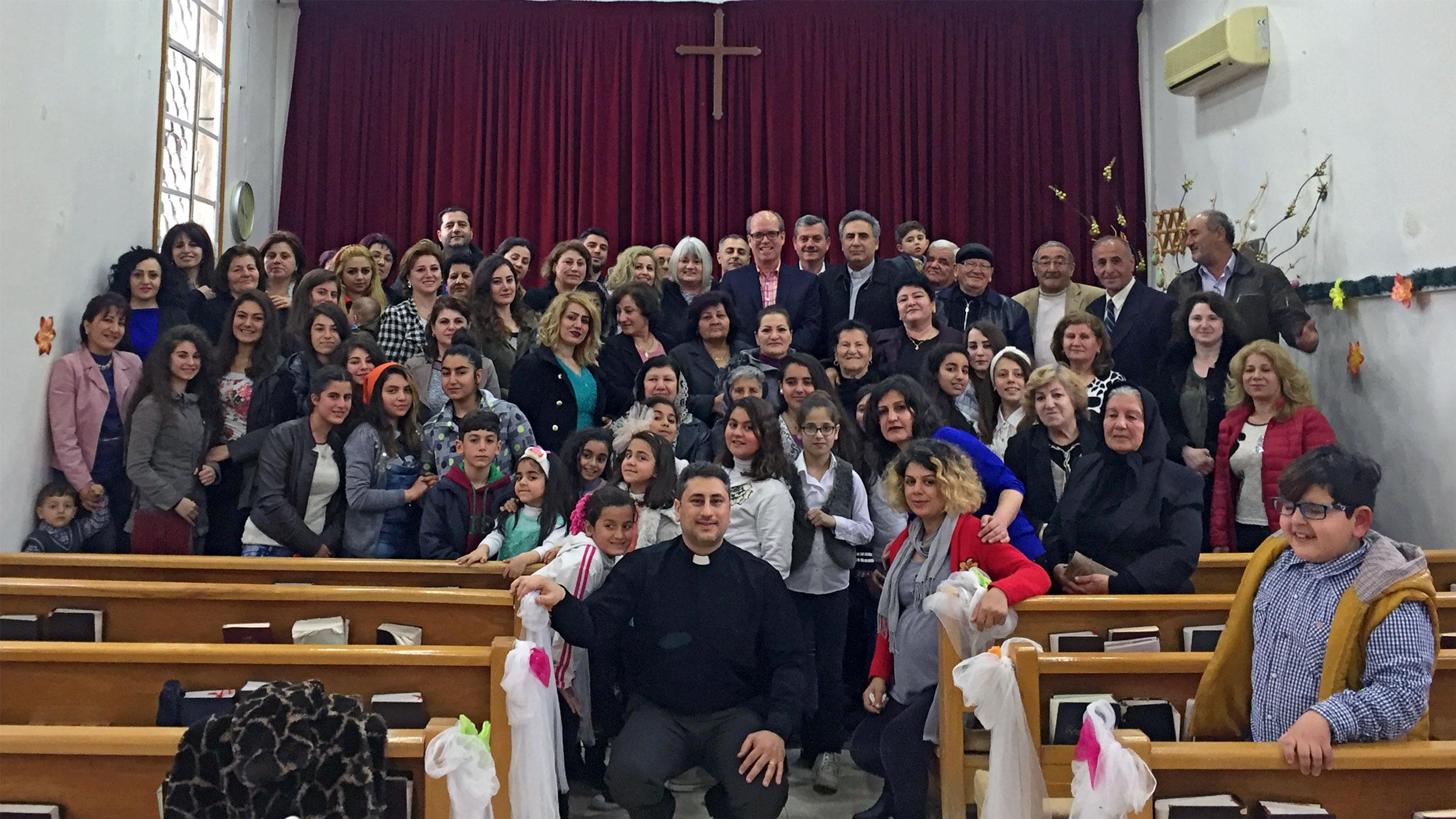 NESSL Malkieh congregation 2017