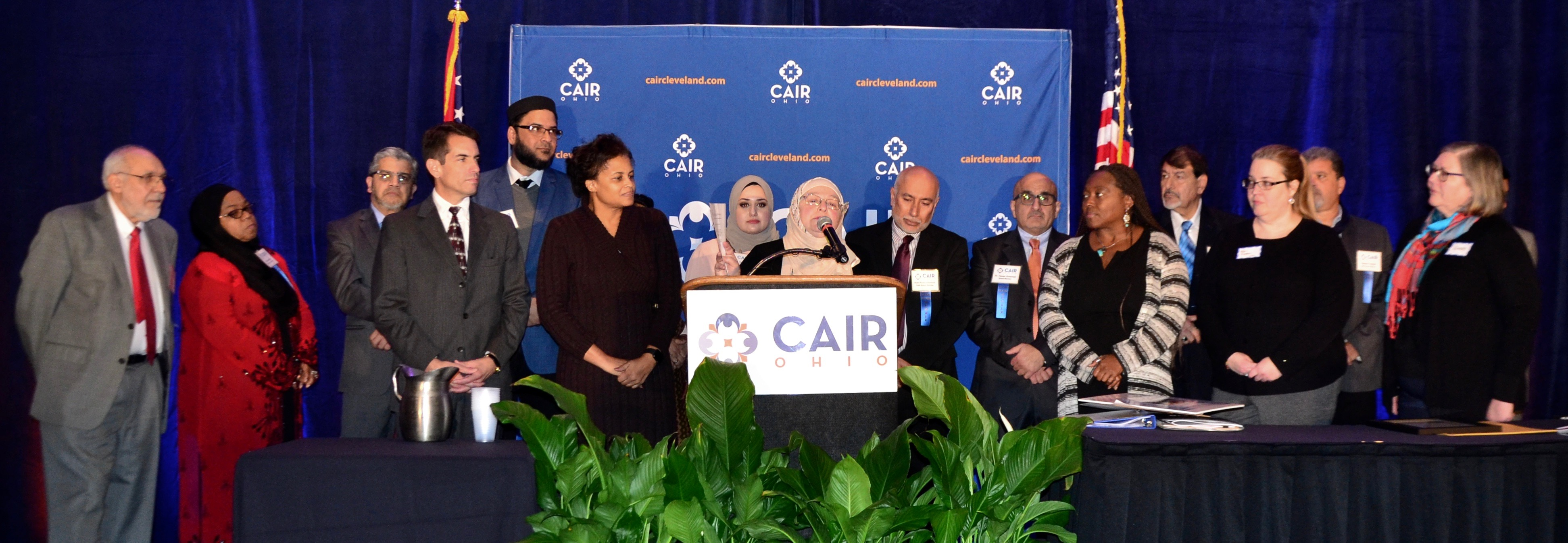 CAIR CLE board & UCC staff 11/3/19