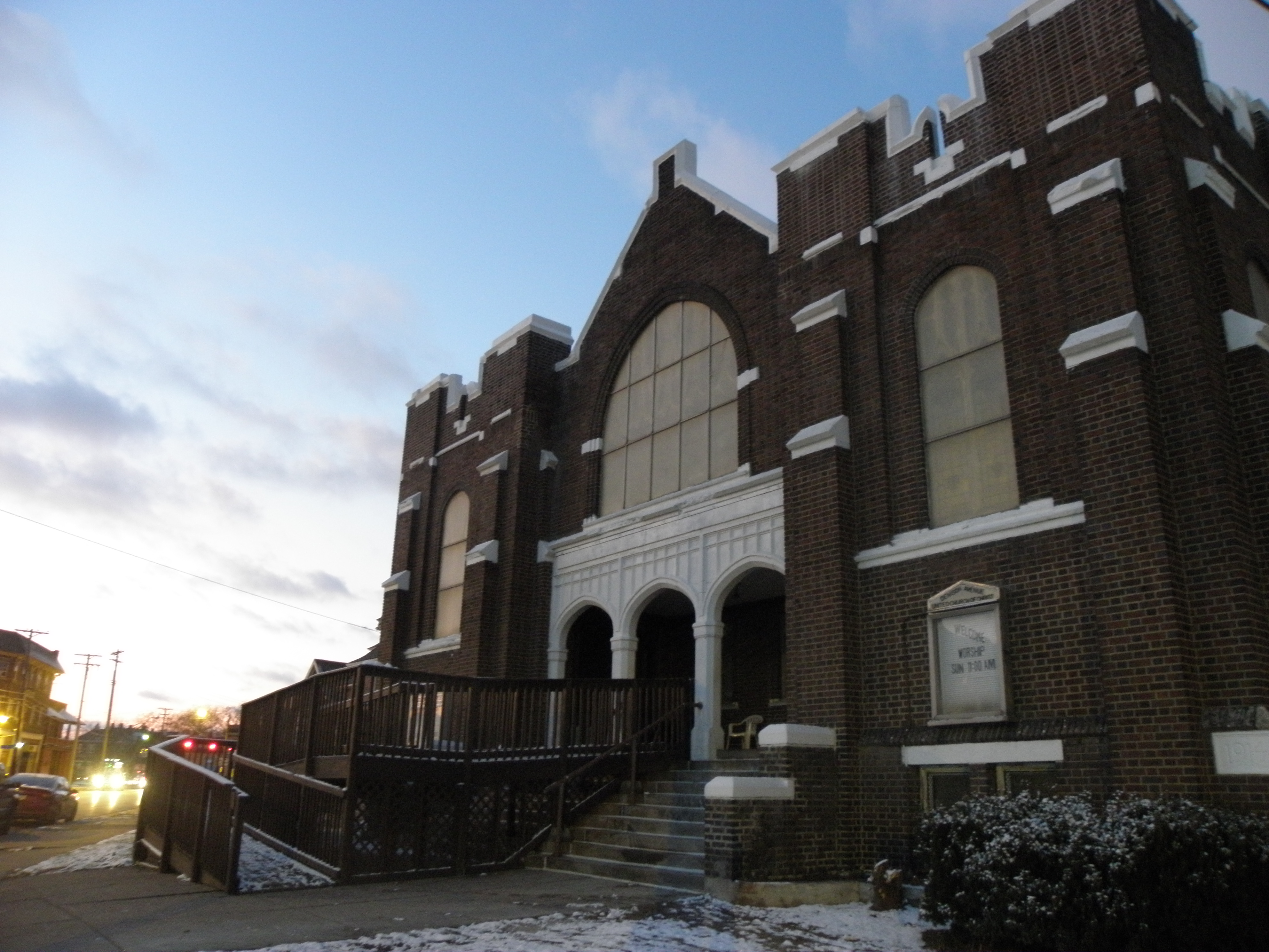 Denison Ave. UCC, Cleveland, 12/17/19