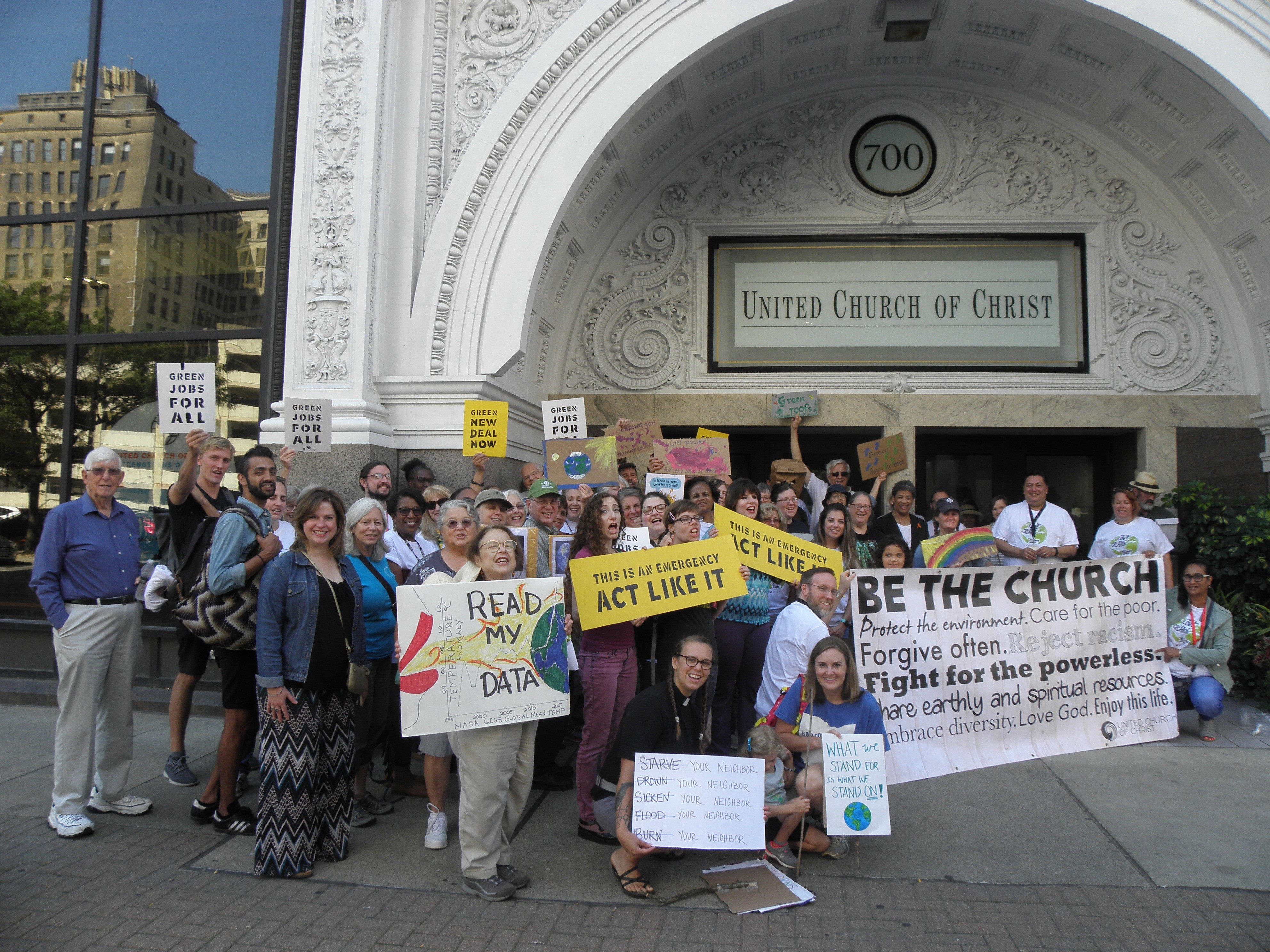Cleveland climate strikers, 9/20/19