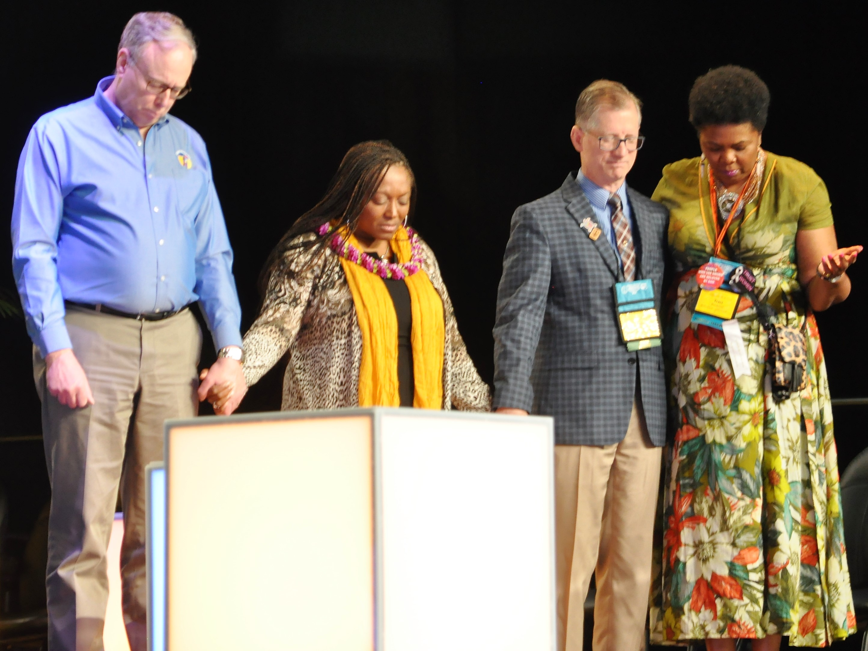 Four UCC officers at General Synod, 6/24/19
