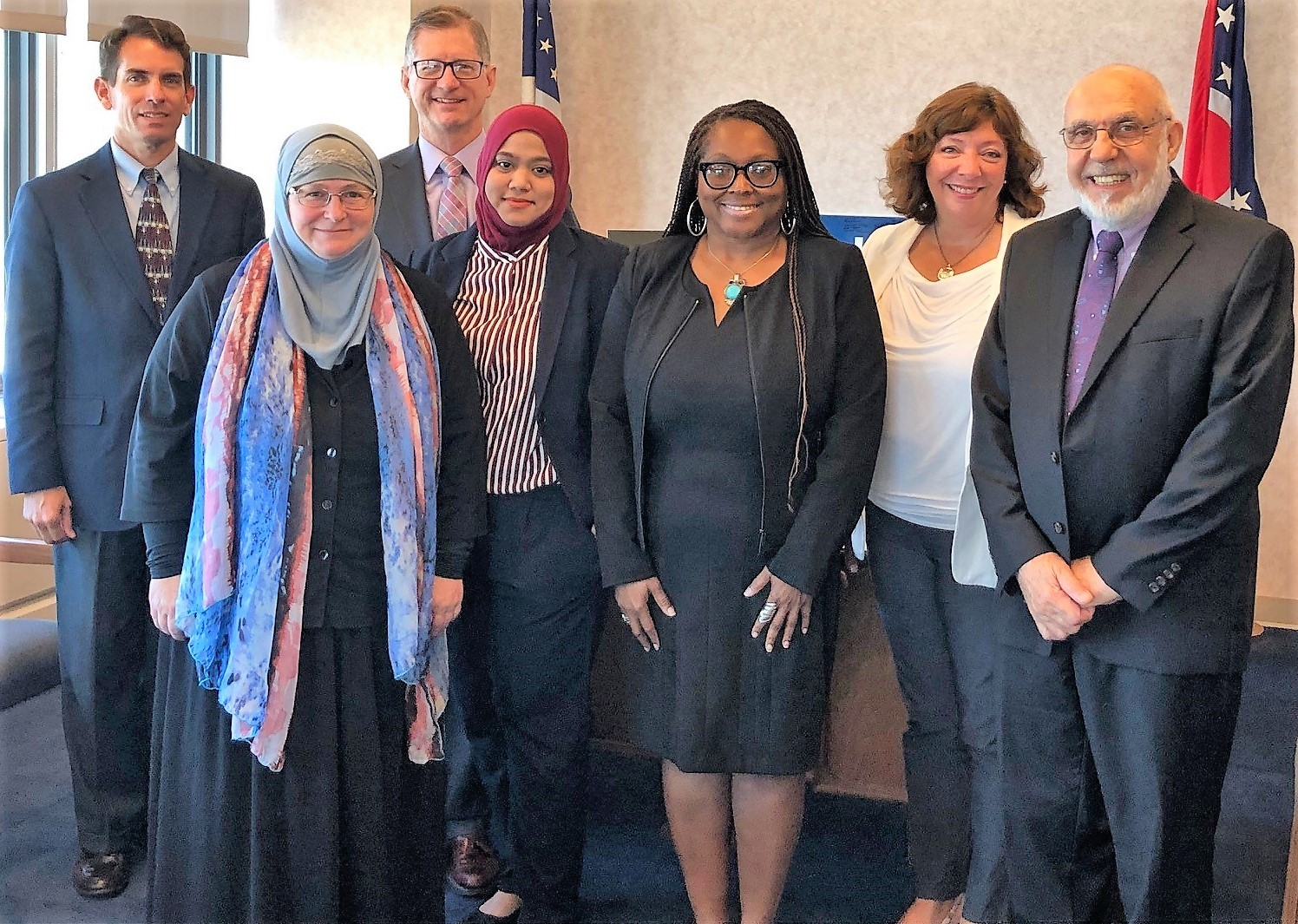 UCC and CAIR officials visit Sen. Portman's CLE office, 8/29/19