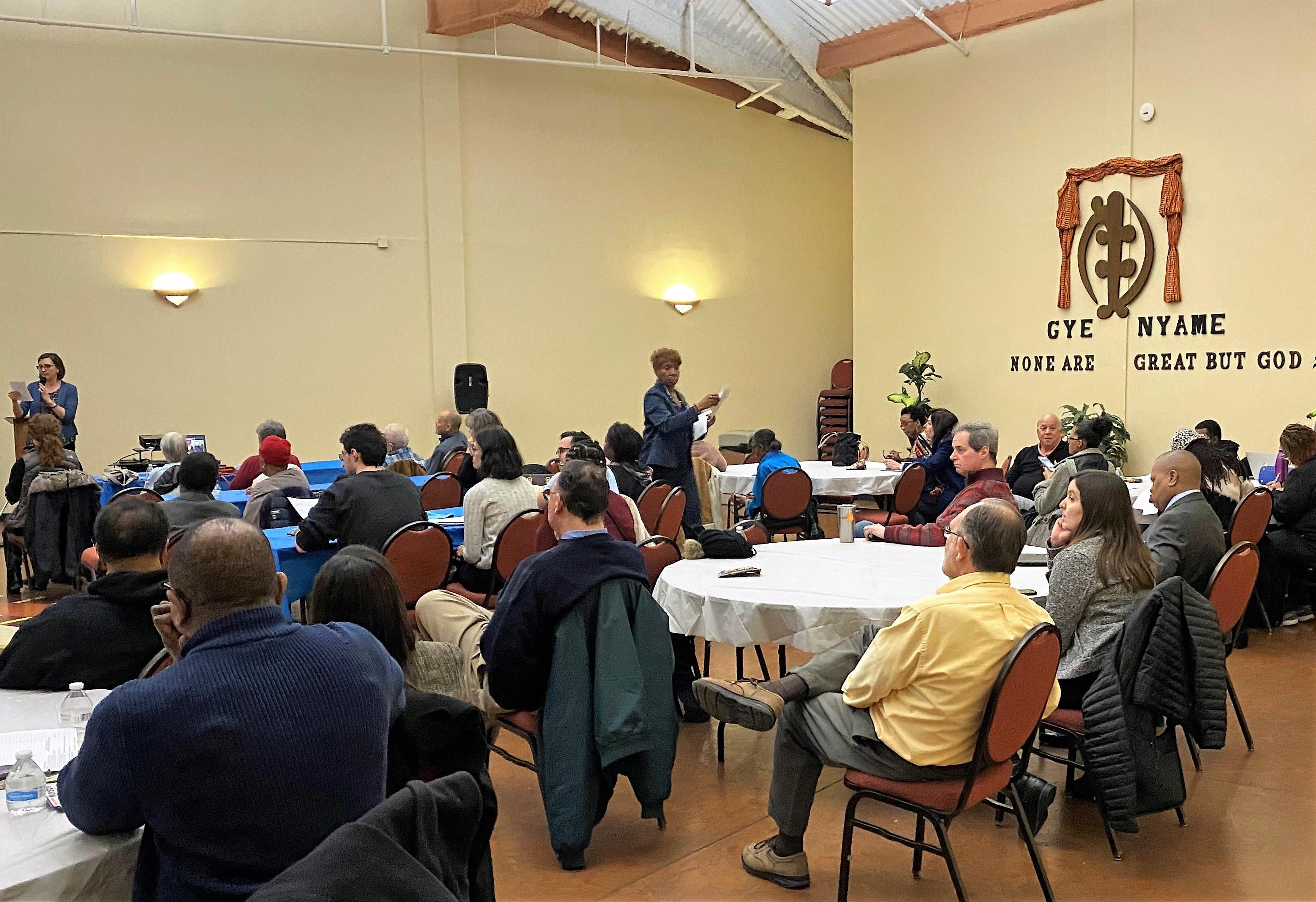 Fellowship Chapel redistricting workshop, 2/12/20