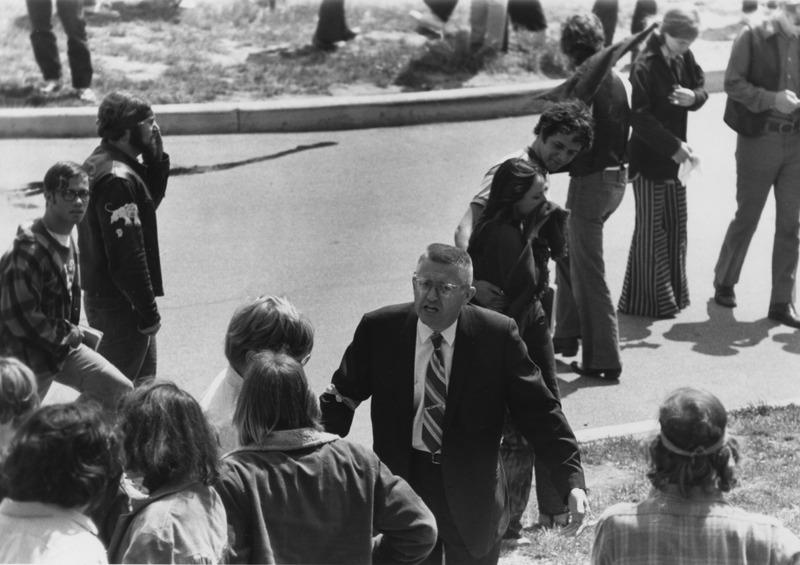Glenn Frank, KSU, 5/4/70, used by permission