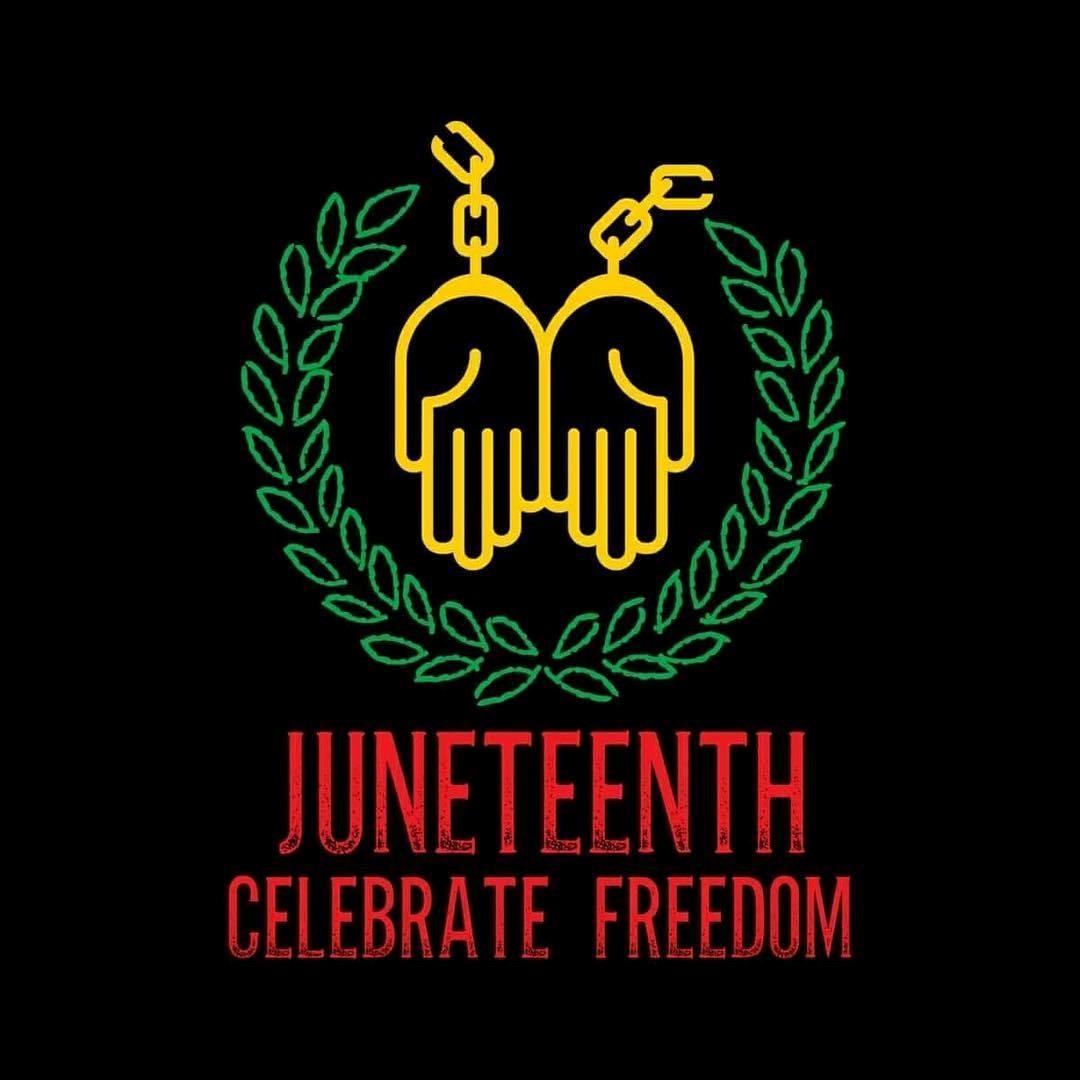 Juneteenth Celebration logo, NH Conference UCC
