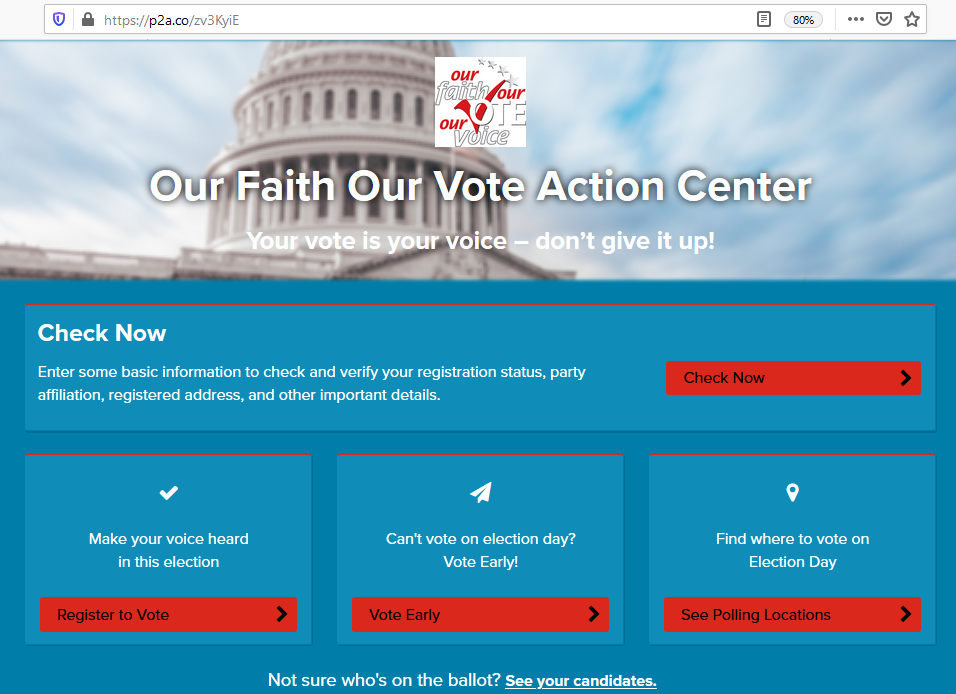 OFOV Civic Action Center 2020