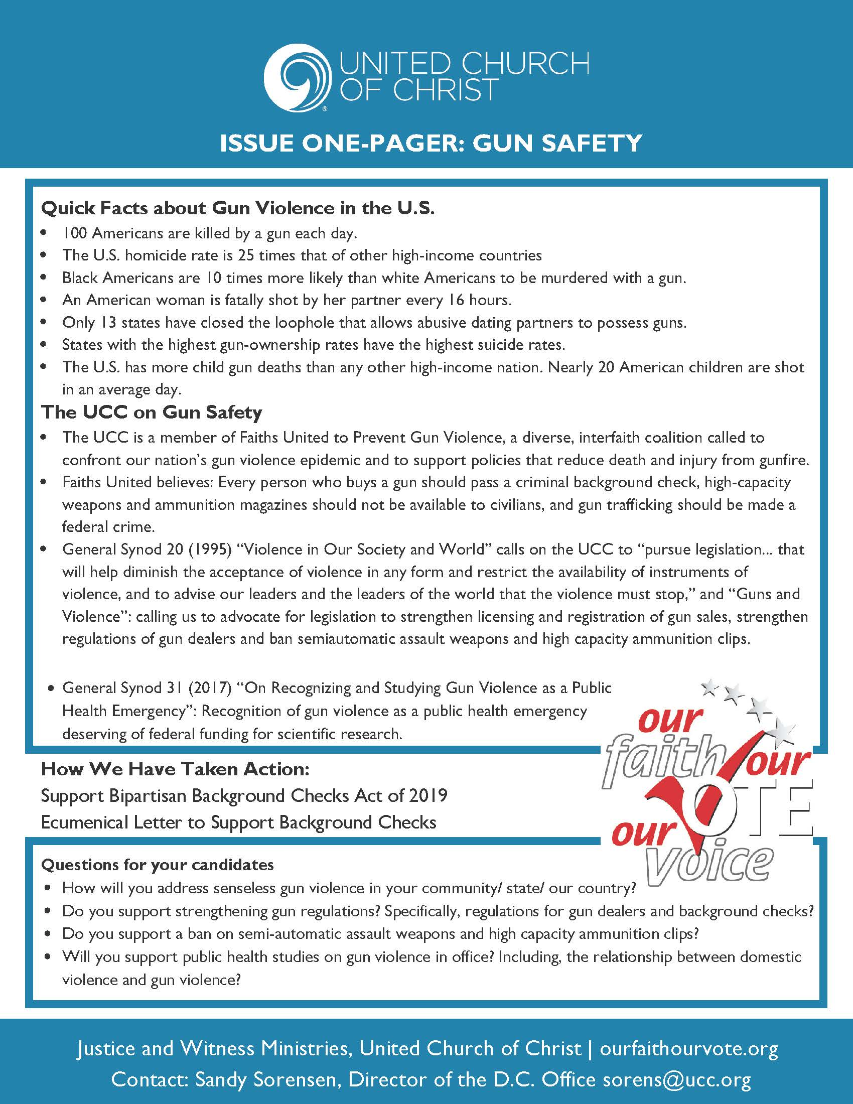 OFOV gun safety one-pager 2020