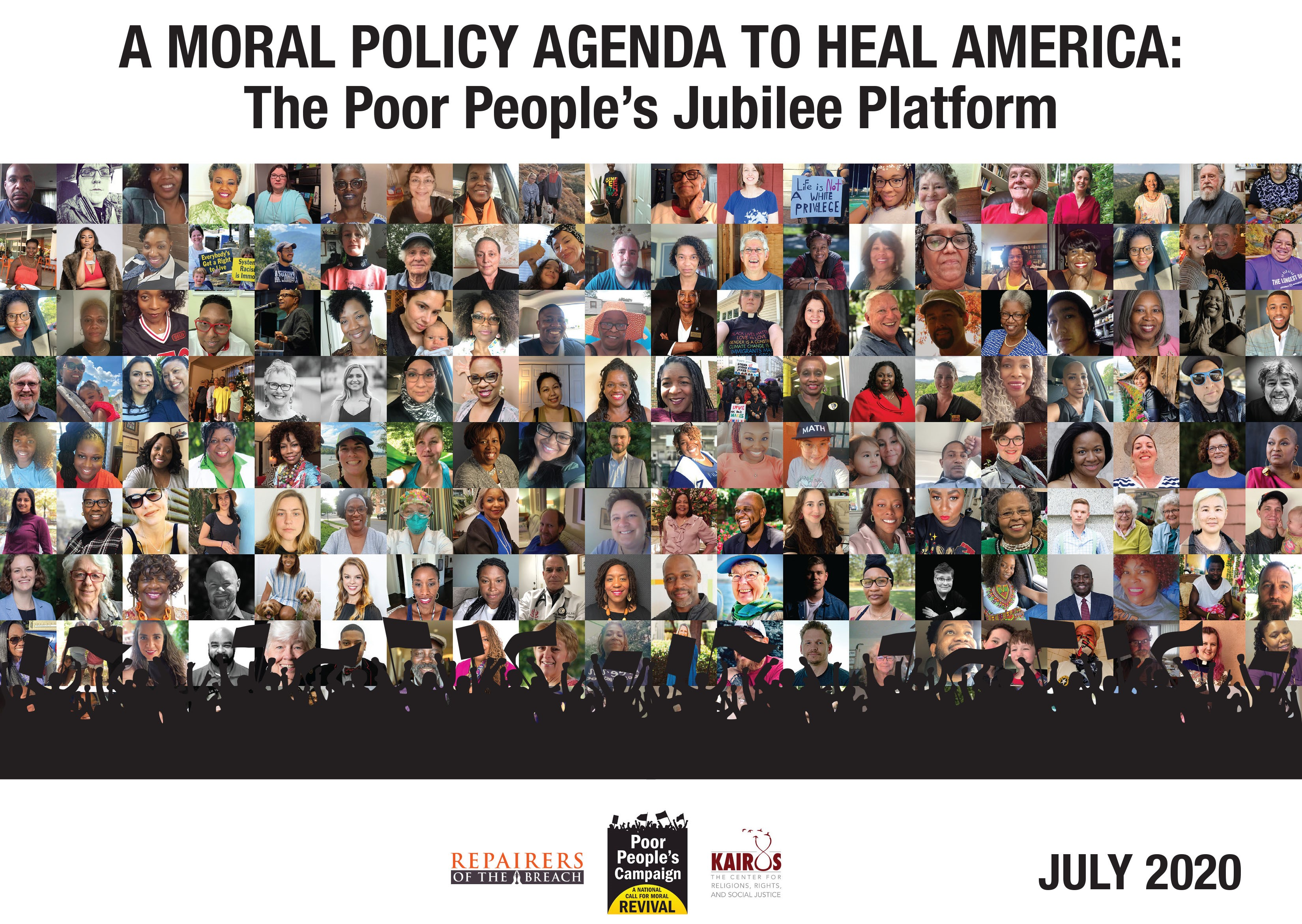 Poor People's Jubliee Platform cover July 2020