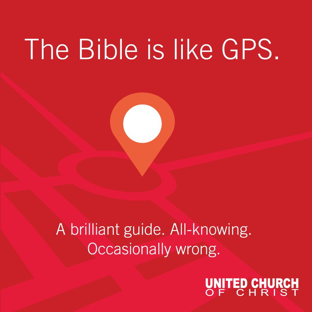 The Bible is like GPS