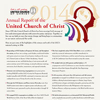Annual Reports - United Church of Christ