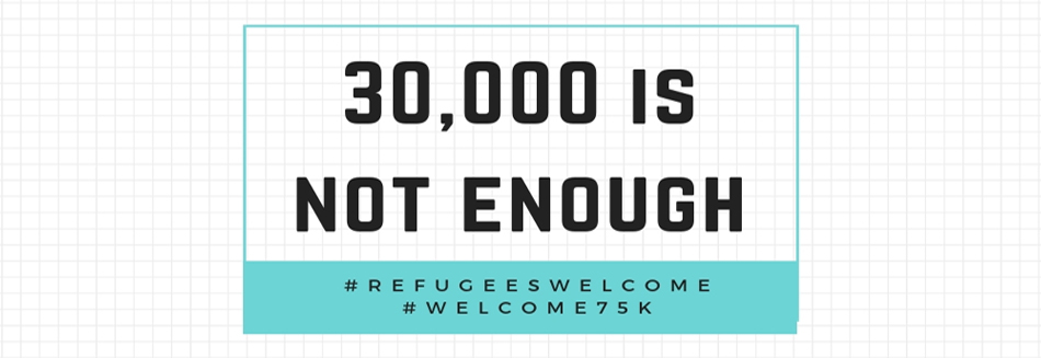 The lowest refugee admission goal has been set