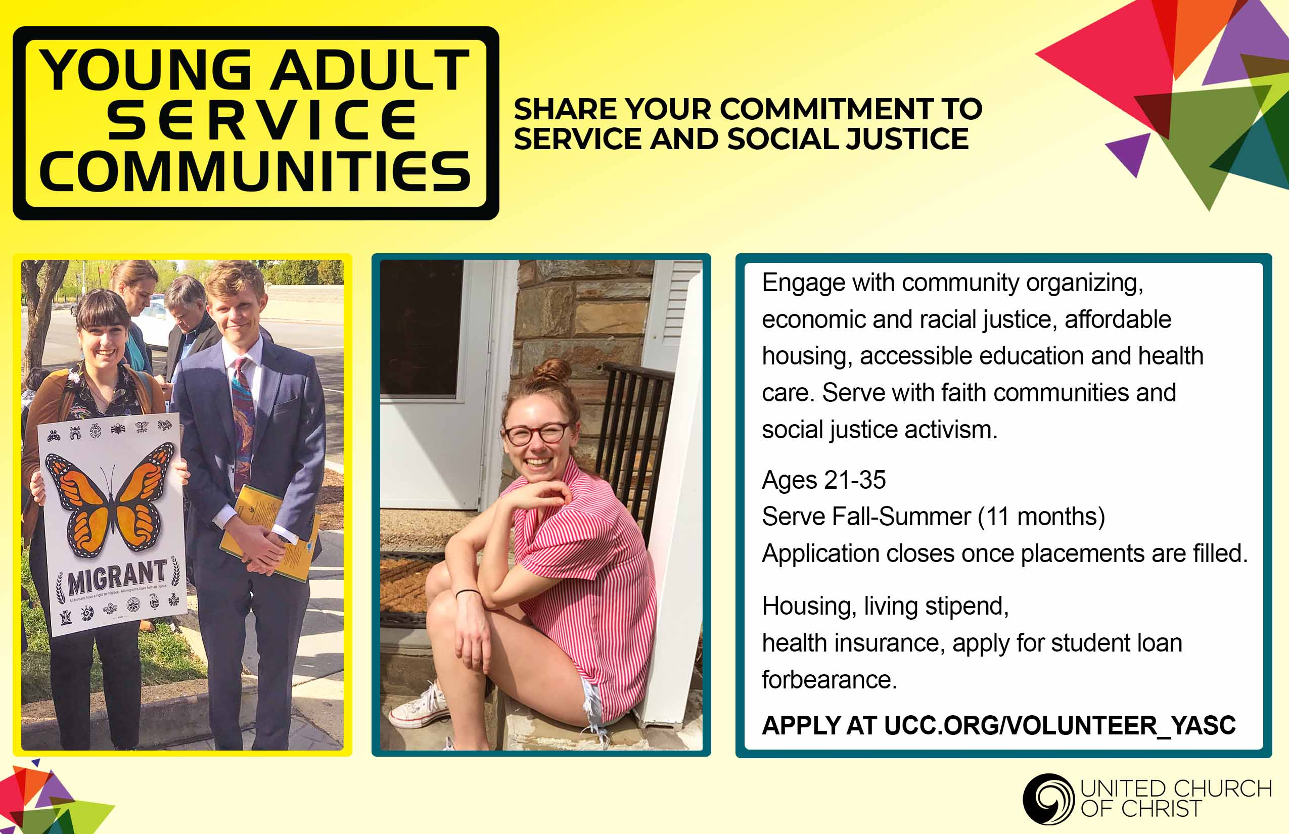 Young Adult Service Communities (National Network)