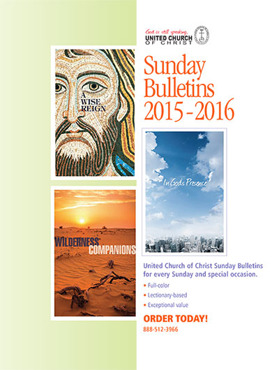 Sunday Bulletins for 2015 - 2016