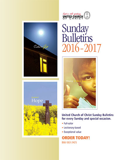 Sunday Bulletins for 2016 - 2017
