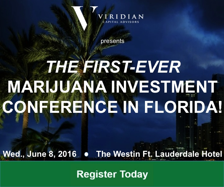 Viridian Cannabis Investor Conference in Florida
