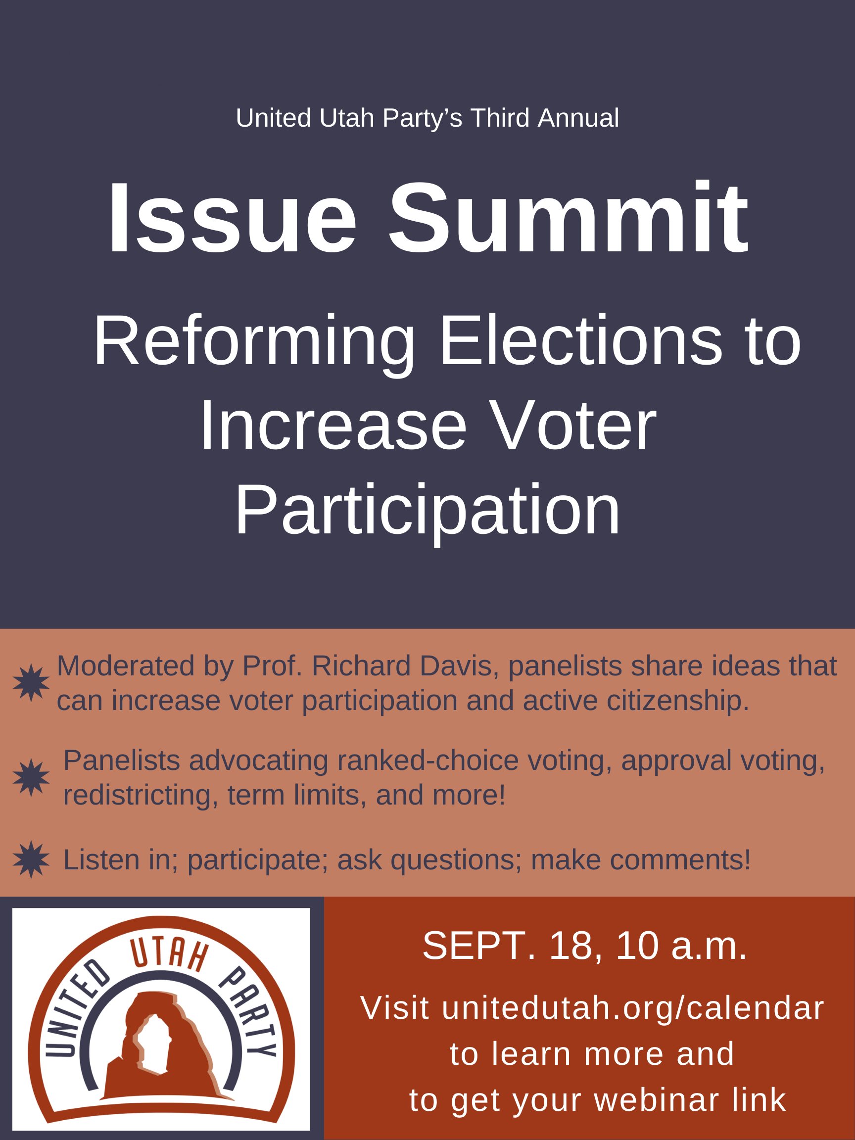 Issue Summit 2021 Poster